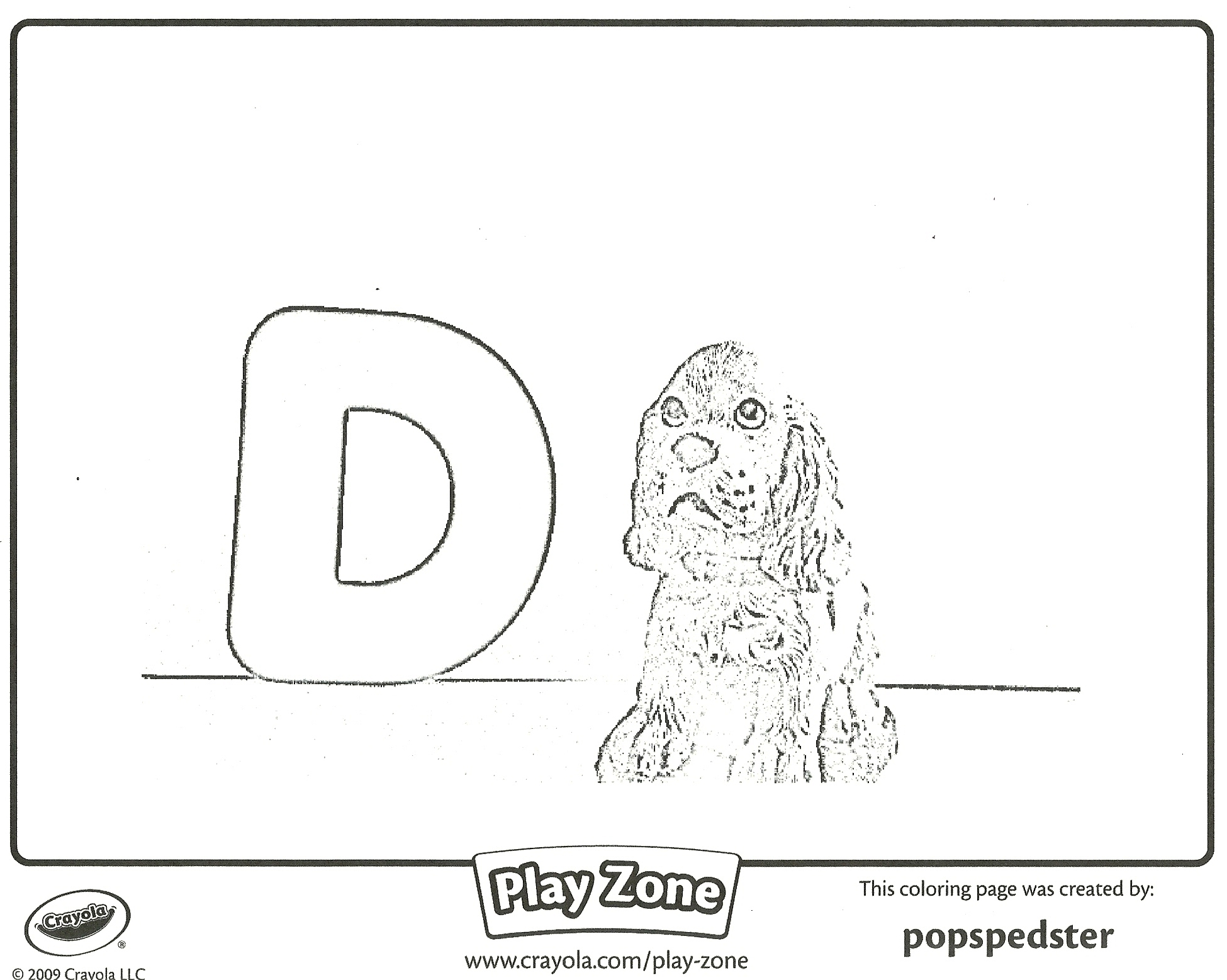 Focusing on the Letter D