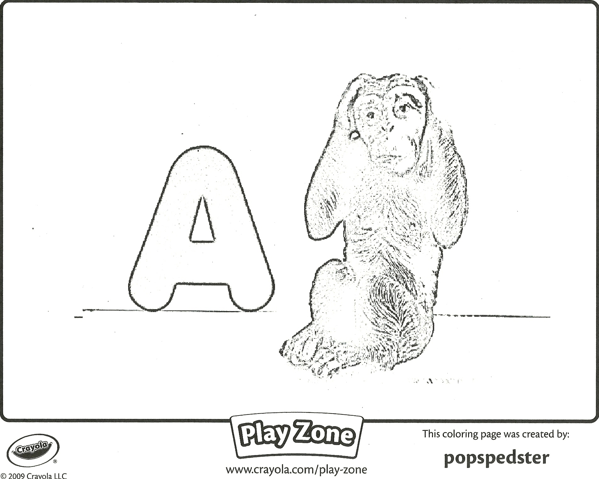 Focusing On The Letter A