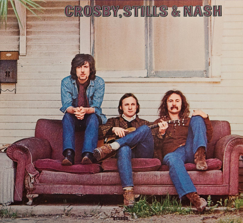 Image result for crosby stills and nash couch