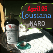 Get Your Cure Here: Louisiana NARO April 25th
