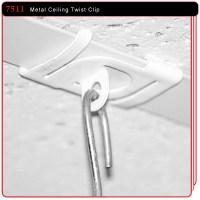 Metal Twist Ceiling Clip