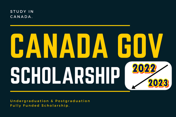 Canada Government scholarships