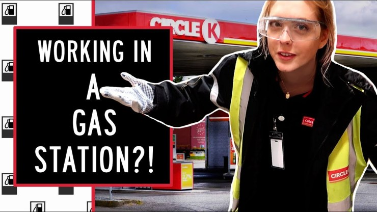 Work At A Gas Station