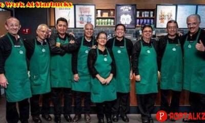 To Work At Starbucks