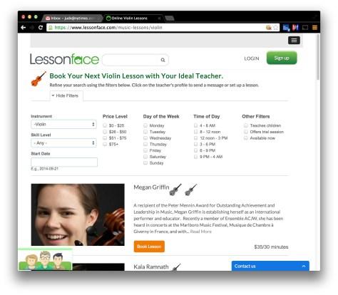 lessonface