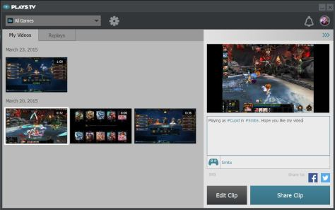 9.Sharing Video to Plays_Facebook_Twitter