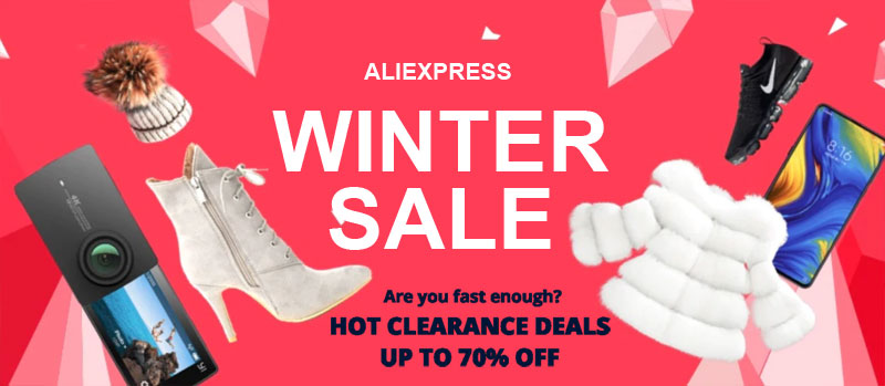 Winter Sale 2020 Aliexpress Coupon Code