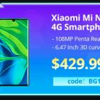 Banggood Xiaomi Mi Note 10 Coupon Code 2020 1