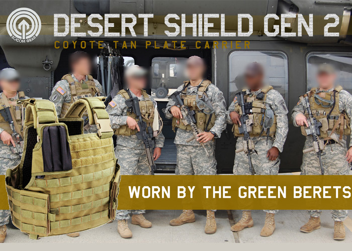 SOCOM Gear Desert Shield Version 2