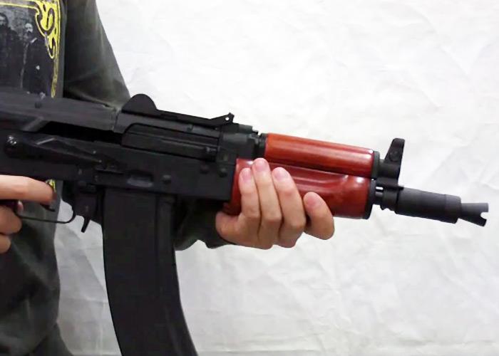 SRC AKS74U Gas Blowback Rifle