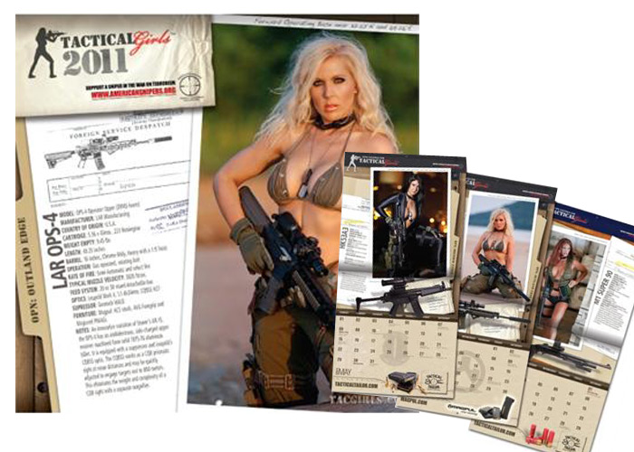 Tactical Girls 2011 Calendar