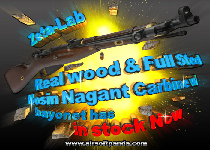 Zeta-Lab Mossin Nagant Rifle