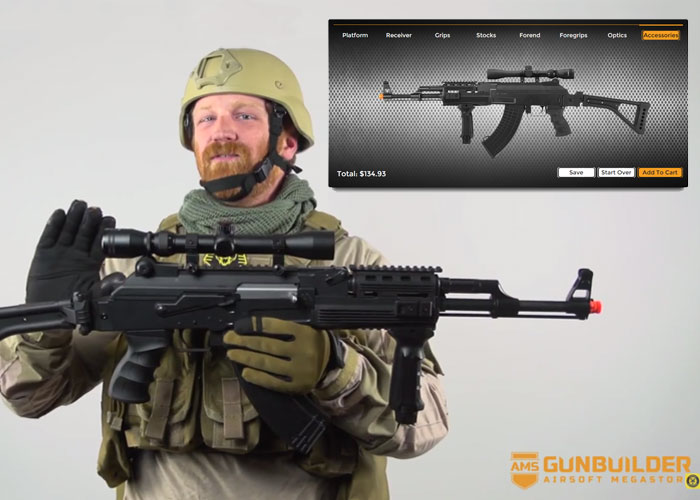 the airsoft megastore gun