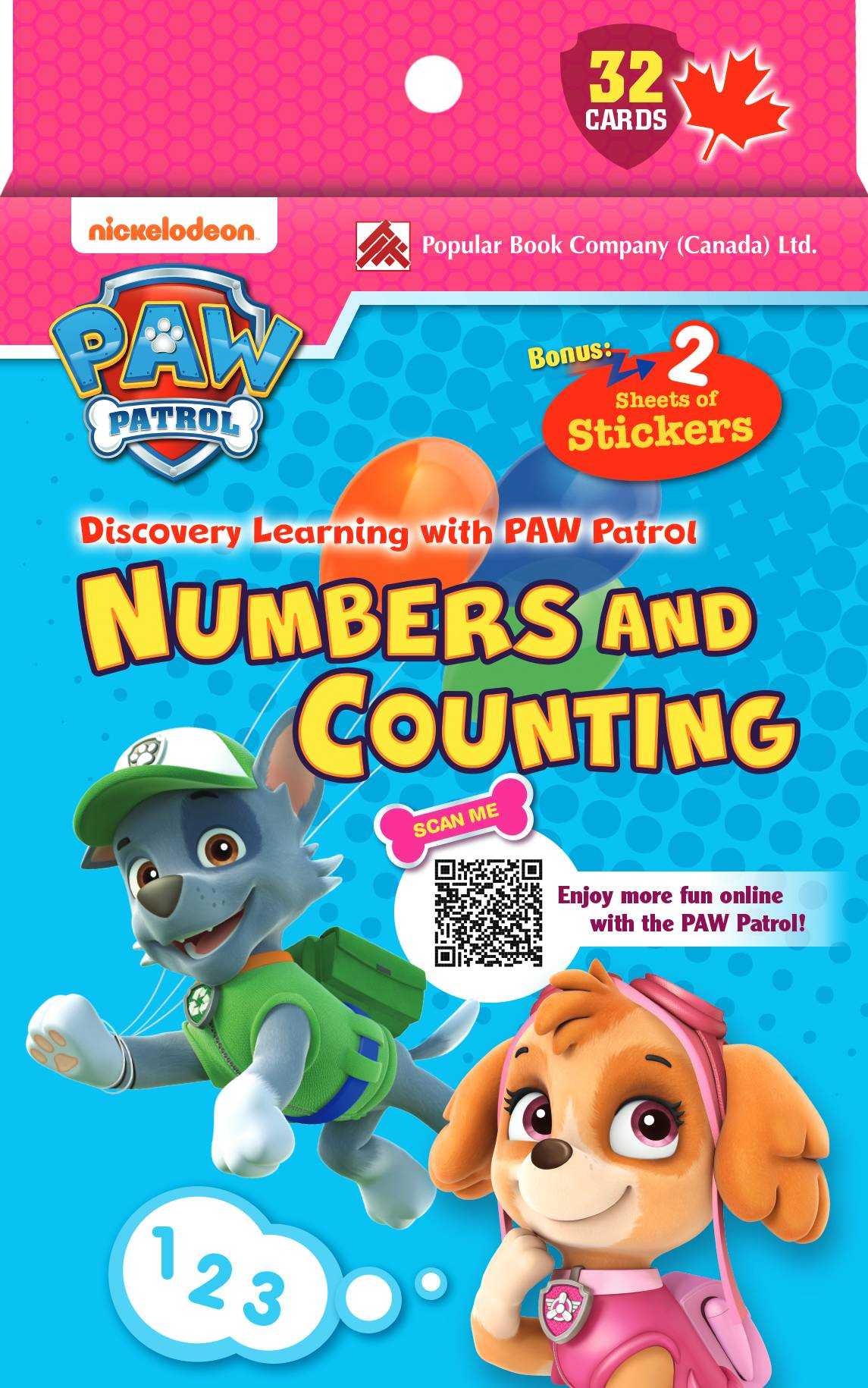 Discovery Learning With Paw Patrol Flash Cards