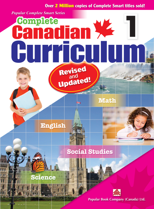 small resolution of Complete Canadian Curriculum (Revised and Updated) Grade 1 Book - All