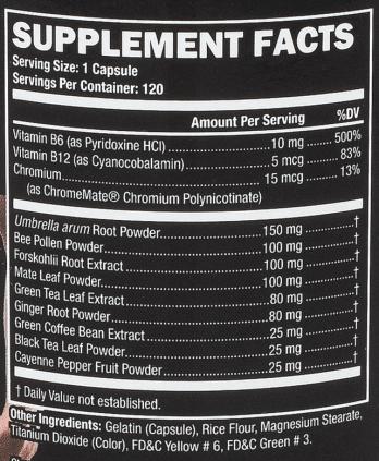 UltraLeanBody ingredients