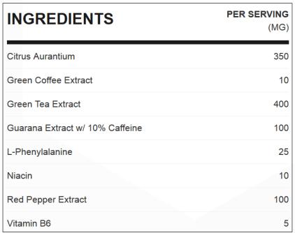 shape shifter ingredients