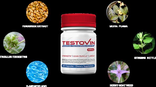 testovin ingredients