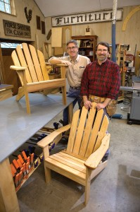 New Yankee Workshop Adirondack Chair  Out in the Elements