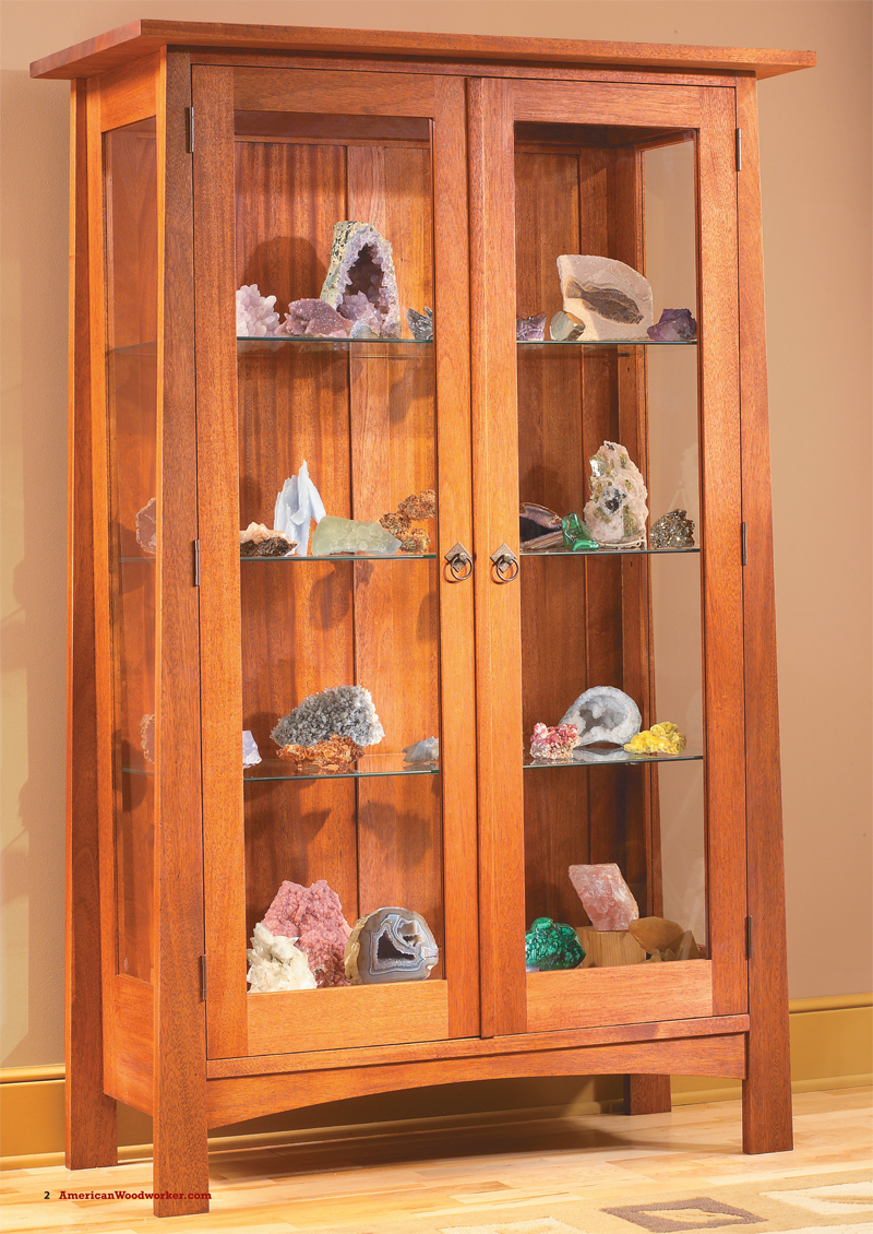 Display Cabinet  Popular Woodworking Magazine