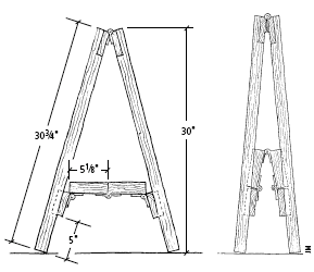 How To Build a Fold-away Sawhorse