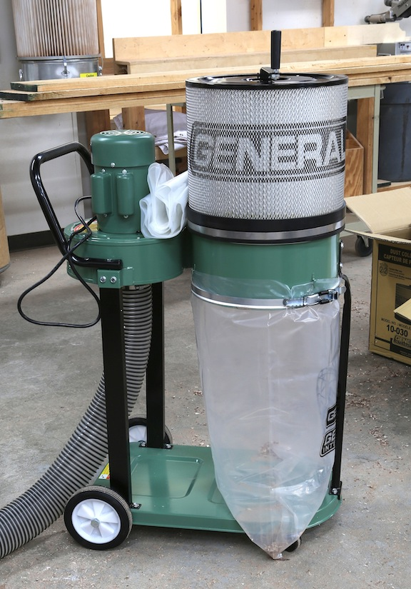 ... need some type of vacuum or a dust collector no a dust collector is