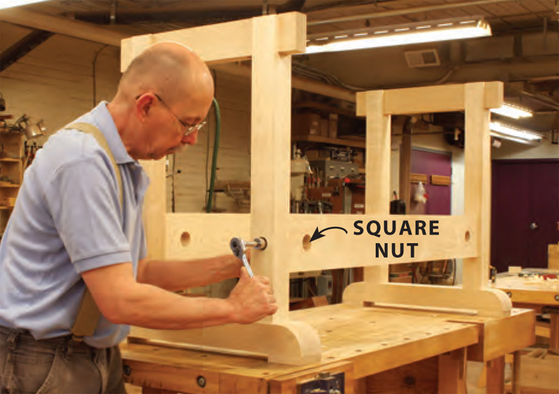 DIY Master Cabinetmakers Bench Plans Make a WorkBench