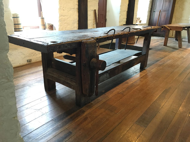 Shaker Workbench No 1 at Pleasant Hill  Popular