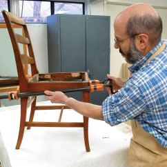 Fixing Wooden Chairs Cheap Table And For Sale Regluing Doweled Popular Woodworking Magazine