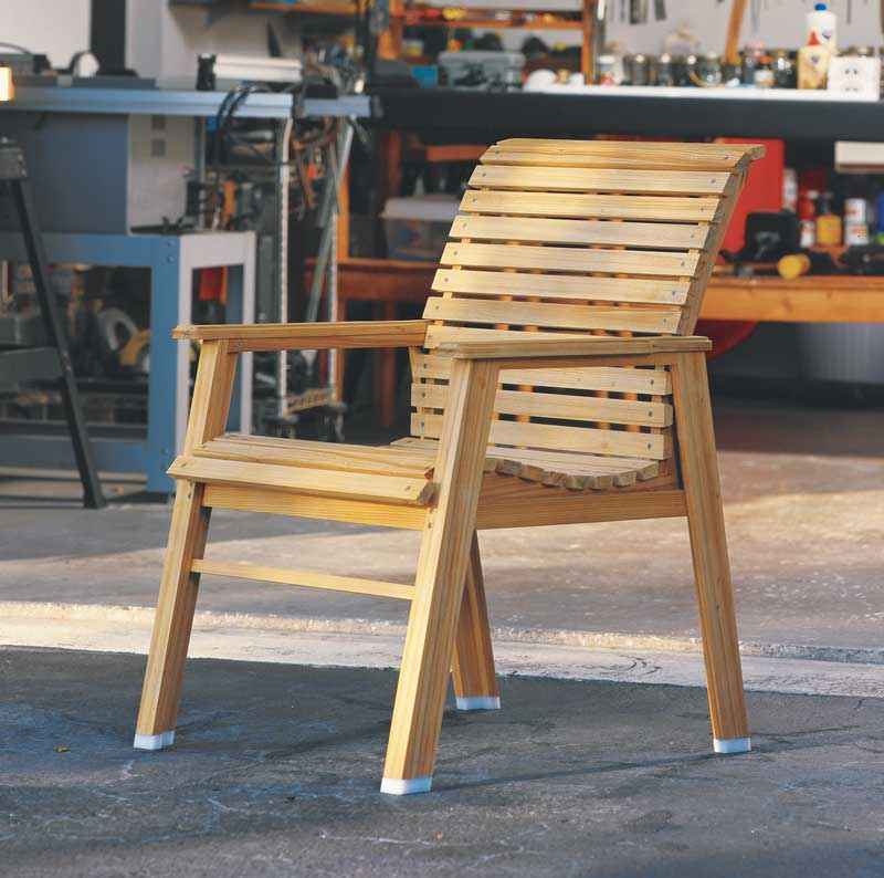 Patio Chair  Popular Woodworking Magazine
