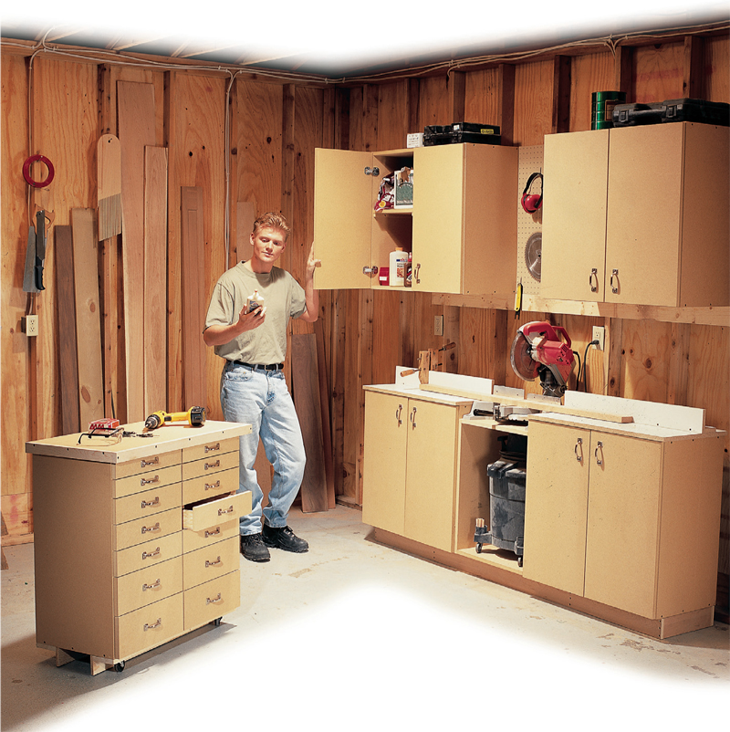Simple AllPurpose Shop Cabinets  Popular Woodworking