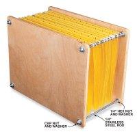 Desktop File Holder - Popular Woodworking Magazine