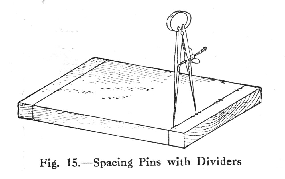 Spacing Dovetails with Dividers