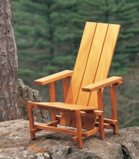 AW Extra - Reitveld Chair - Popular Woodworking Magazine