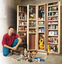 AW Extra - Giant Shop Cabinet - Popular Woodworking Magazine