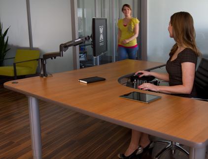 Vox Adjustable Perfect Corner Desk  Populas