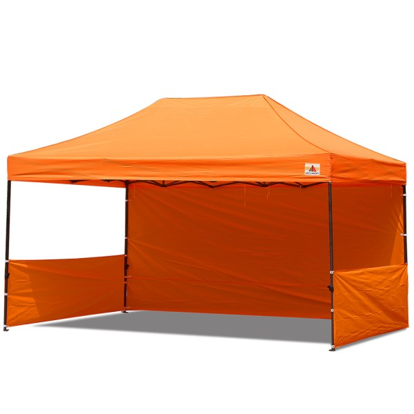 Abccanopy 10x15 Deluxe Orange Pop Canopy Trade Show