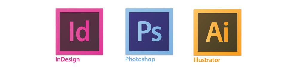 photoshop vs illustrator vs indesign
