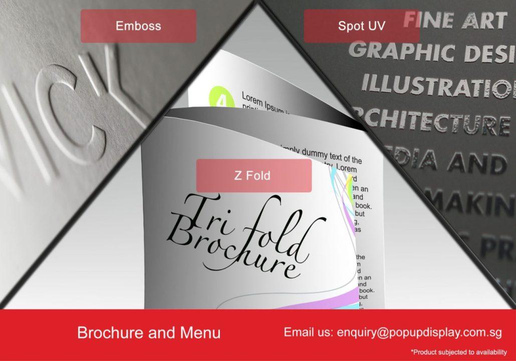 Brochure and Menu