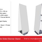 Double Side Stand