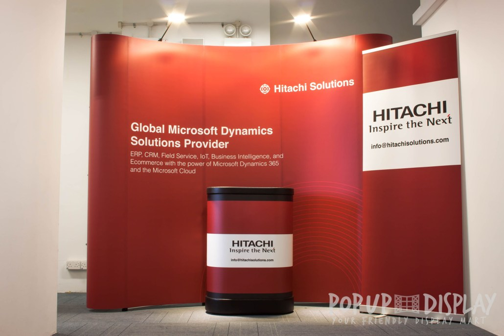 Pop Up Display - Hitachi