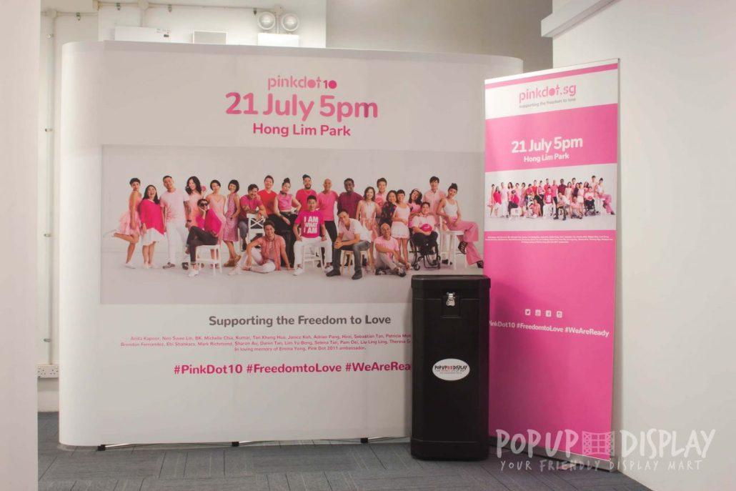 Pink Dot Banner