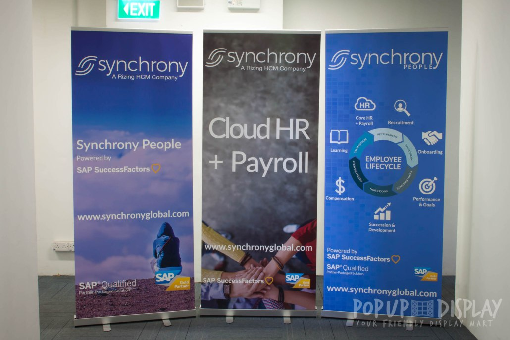 Pull Up Banner Synchrony