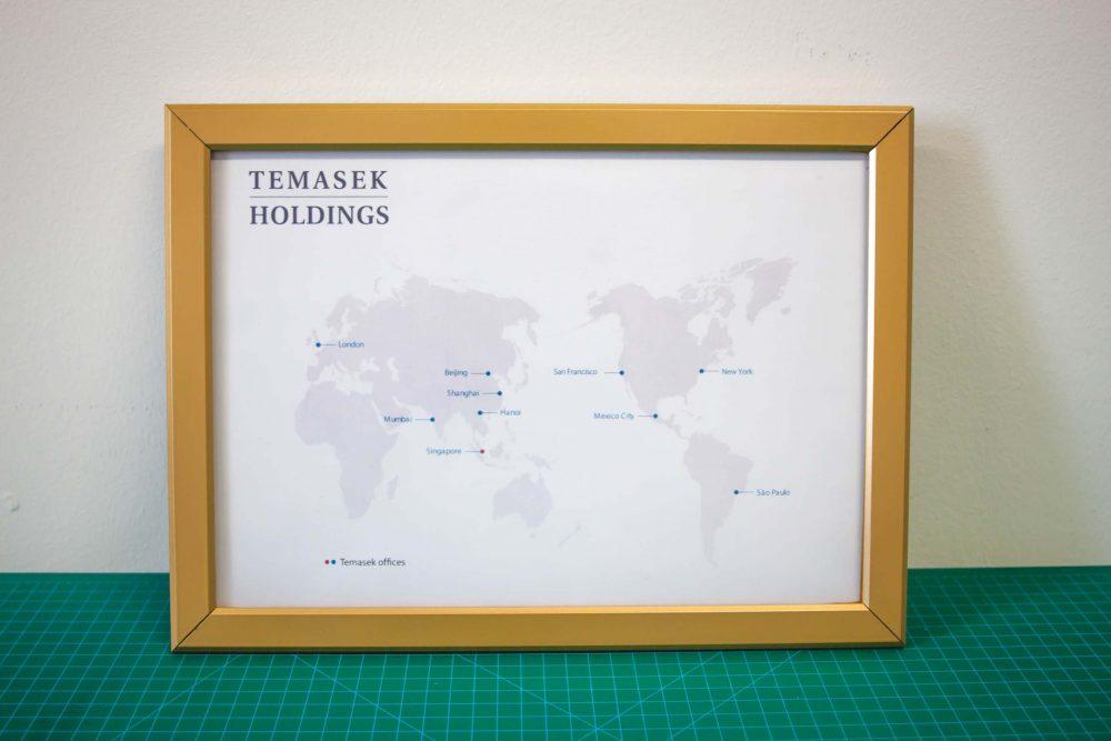 foam board printing poster snap frame