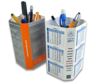 Popupmailers Desk Tidies Are Visual And Useful Marketing Tools