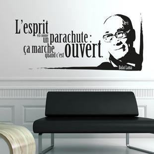 Stickers Muraux Citation Oscar Wilde Vous Mme