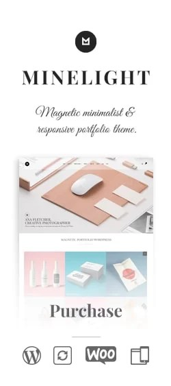 Minelight WordPress Theme