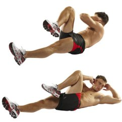 Captains Chair Exercise 2 Intex Float Bicycle Crunches Work Your Upper And Lower Abs Popworkouts Exercise2