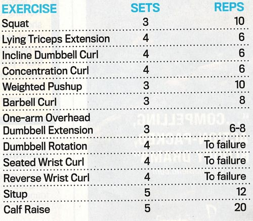 Bruce Lee Workout Routine Book Pdf