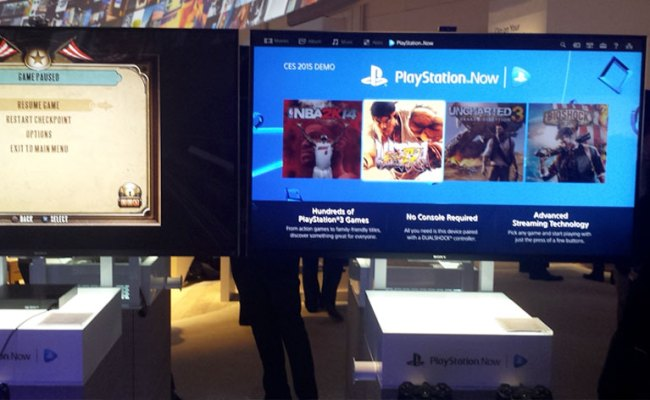 Ces 2015 Playstation Now Gets Subscription Upgrade Tech
